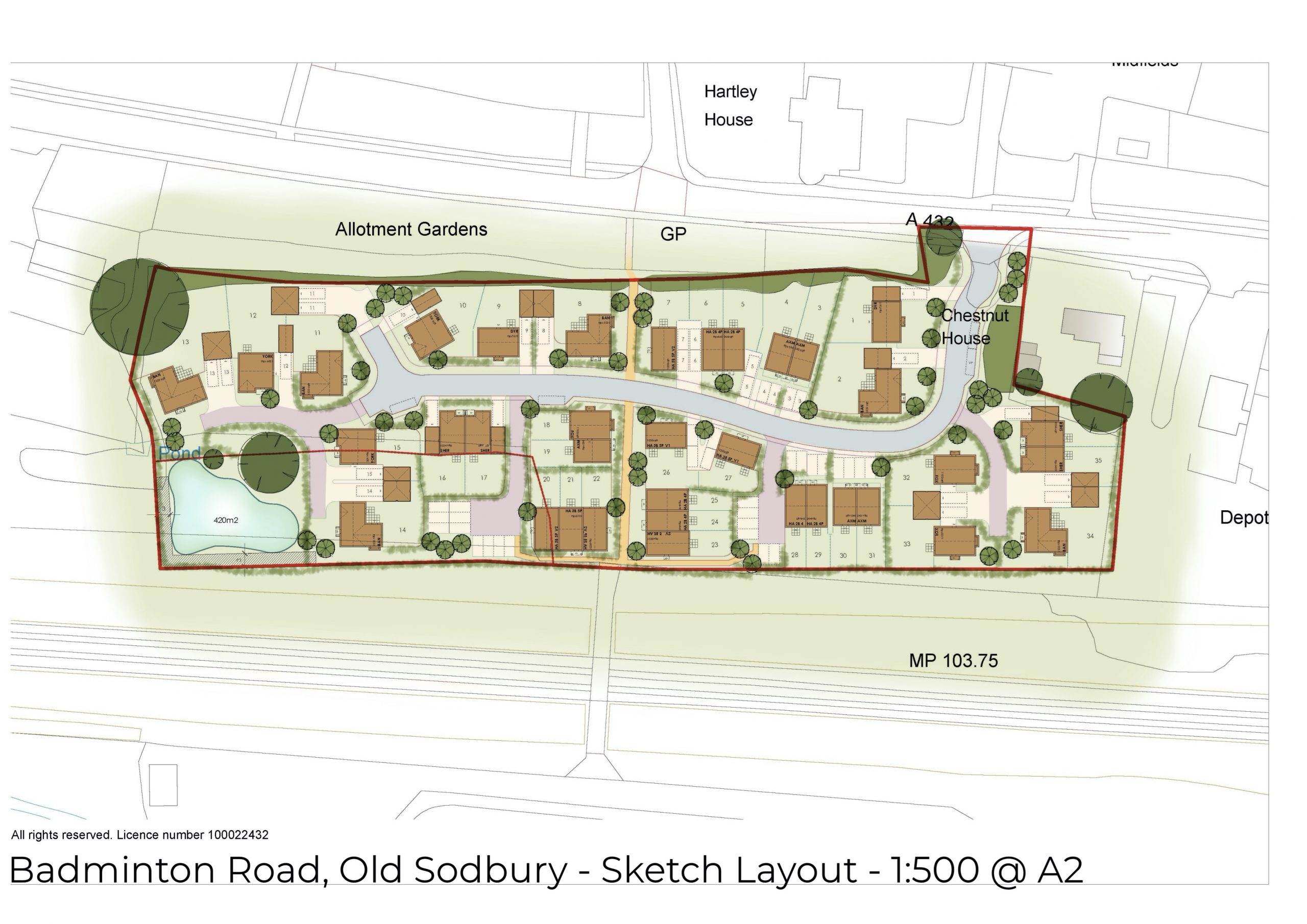 Emerging Masterplan – Old Sodbury copy